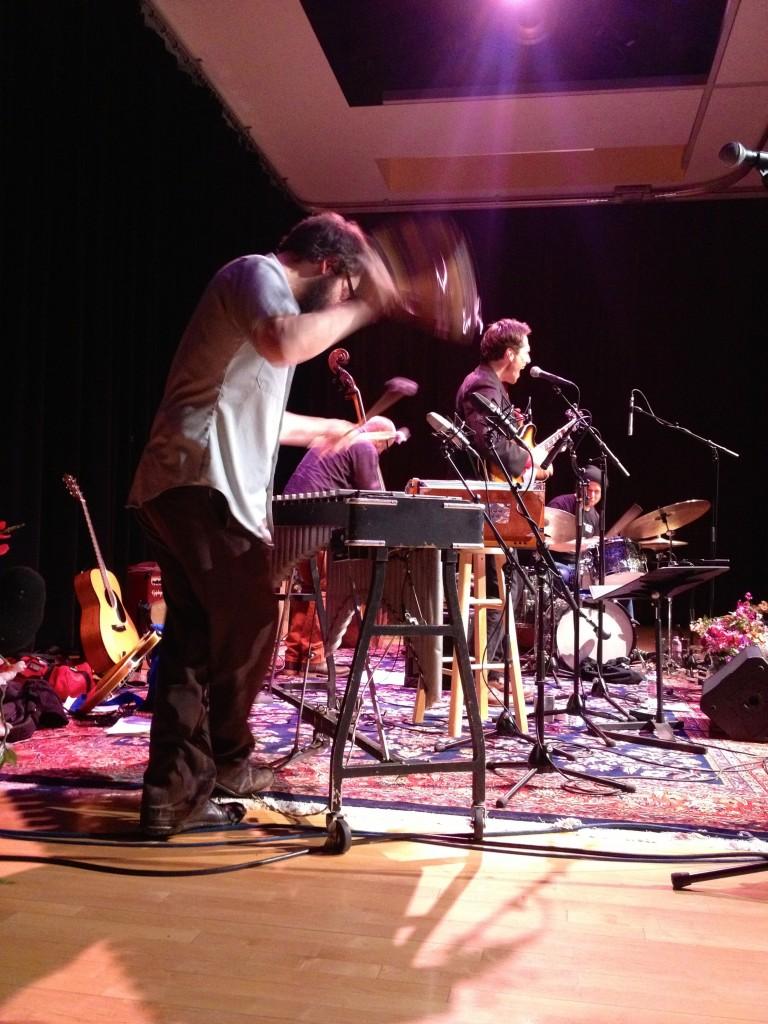 live photo by Rachel Drew
