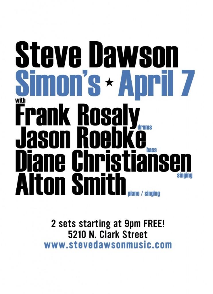 simon's poster